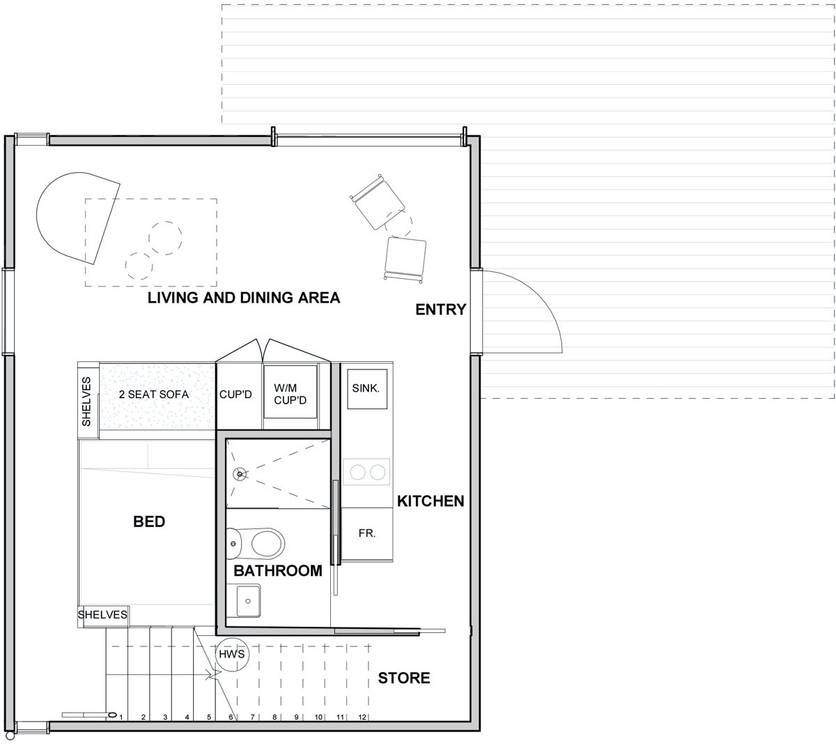 Level G Floor Plan