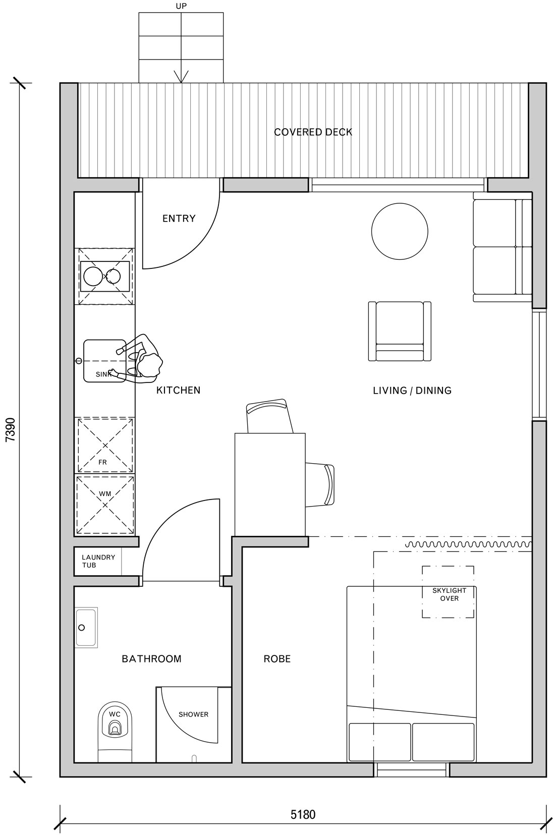 The Gable - one bedroom