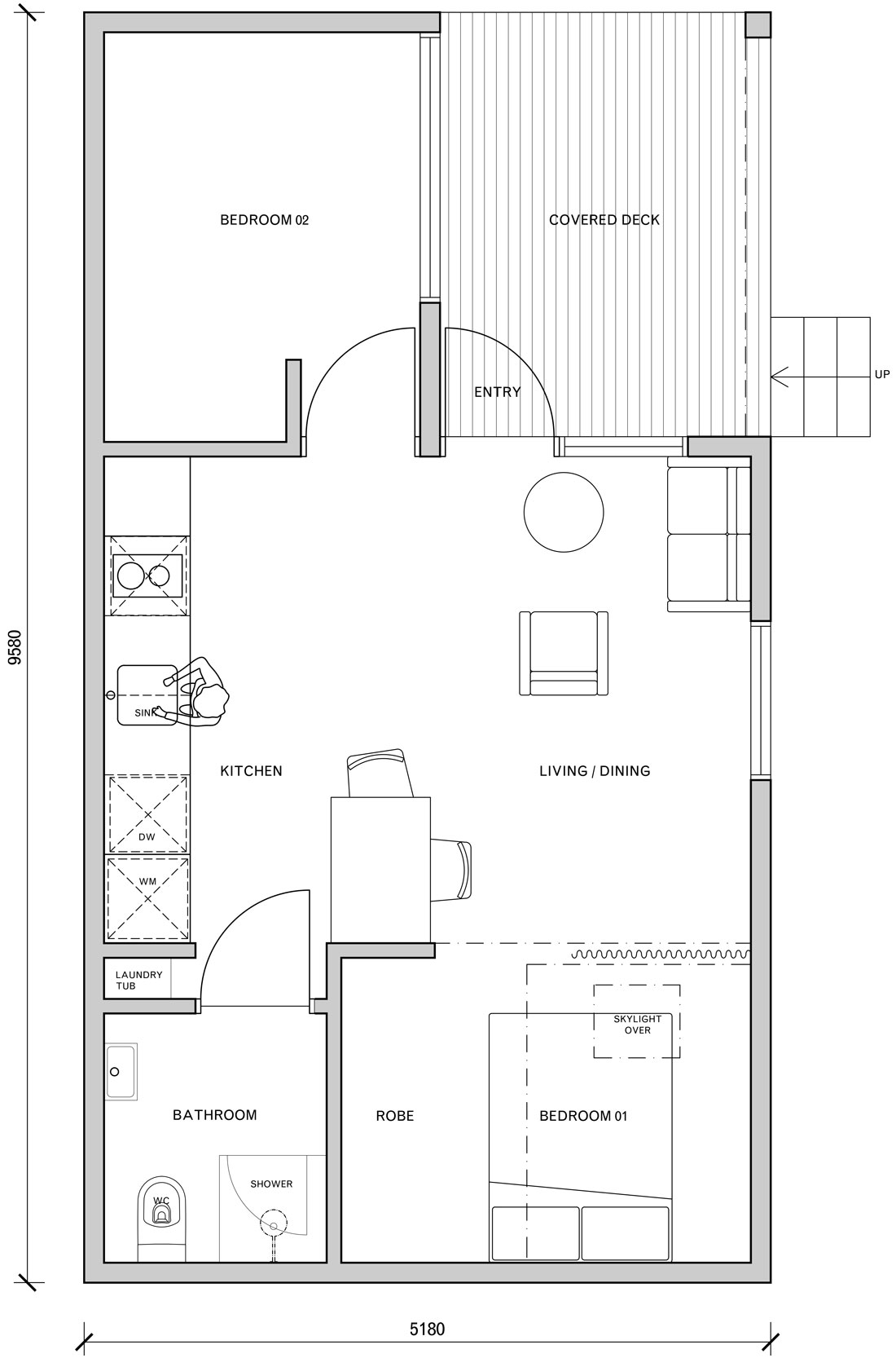 The Gable - two bedroom