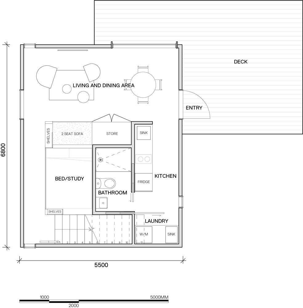 Level G Floor Plan